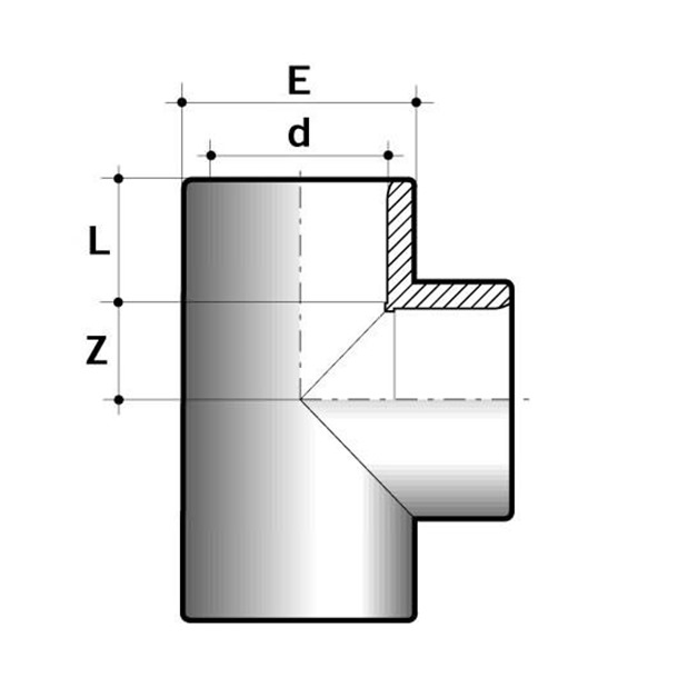 PVC-U T Piece