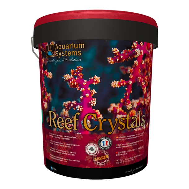 Aquarium Systems Reef Crystals Salts