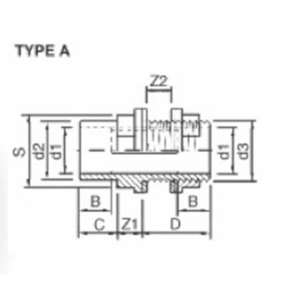 AquaMedic PVC-U Bulk Head