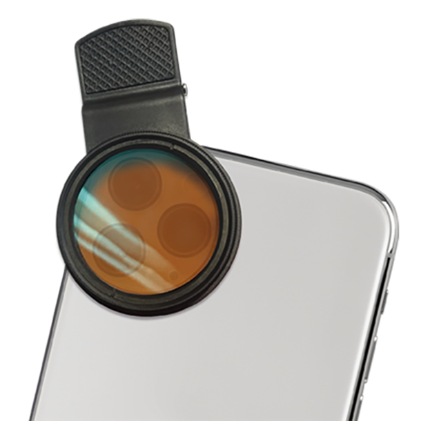 D-D Coral Colour Lens